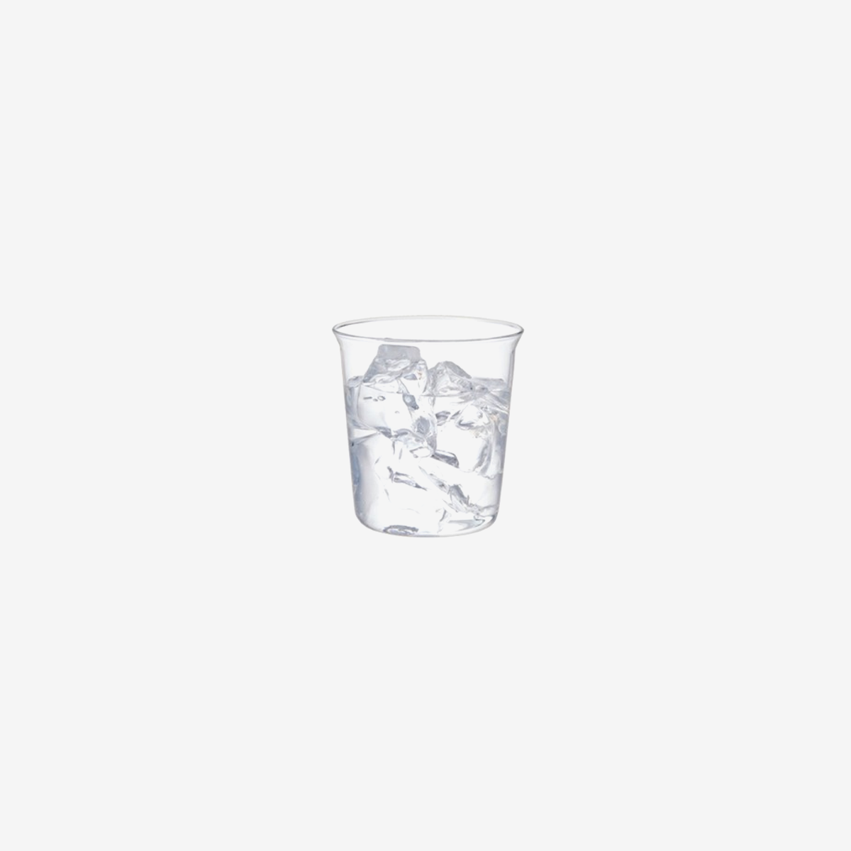 Cast Water Glass 250ml